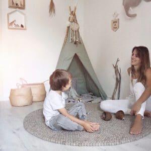 Meintipi Tipi Zelt Amazonas Kinderzimmer Spielzelt Grün Natur