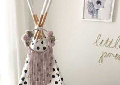 Meintipi Traumfänger Feenzauber Lila Dreamcatcher Kinderzimmer