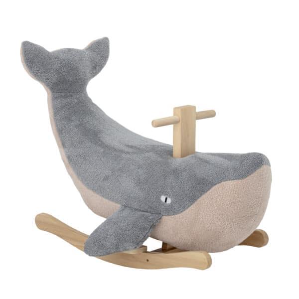 Moby Schaukeltier Wal Blau Bloomingville Meintipi