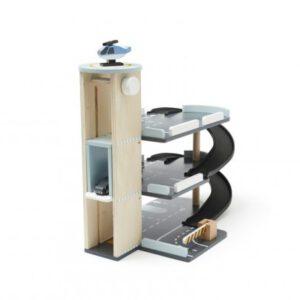 Parkhaus 3-stöckig Aiden mit Fahrstuhl Kids Concept Meintipi