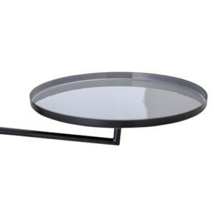 Wand Tablett Eisen schwarz
