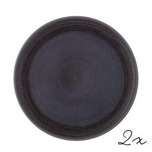 Teller Raben Stoneware 30cm