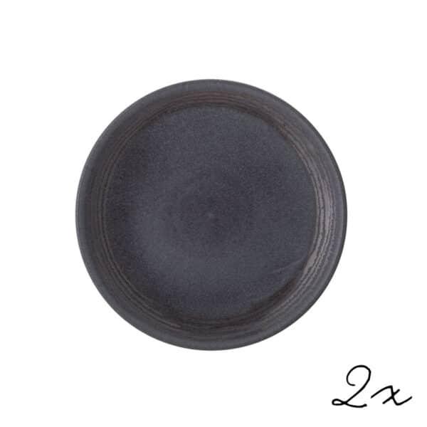 Teller Raben Stoneware 21cm