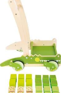 Lauflernwagen Krokodil