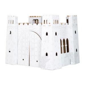 Spielhaus Burg aus Bastelkarton