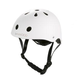 Fahrrad Helm Classic Weiß