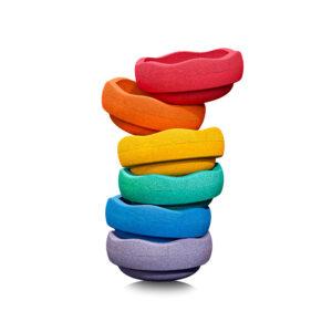 Stapelstein Rainbow Basic Set