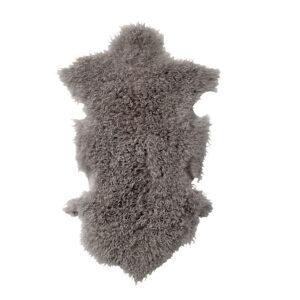 Mongolisches Lammfell Naduk Grau