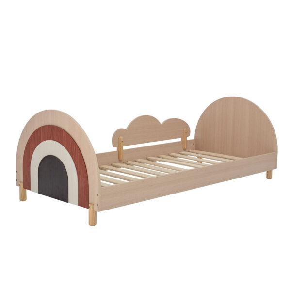 Charli Junior Bett mit Regenbogen und Wolke Bloomingville MINI x MEINTIPI